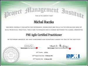Certyfikat PMI-ACP